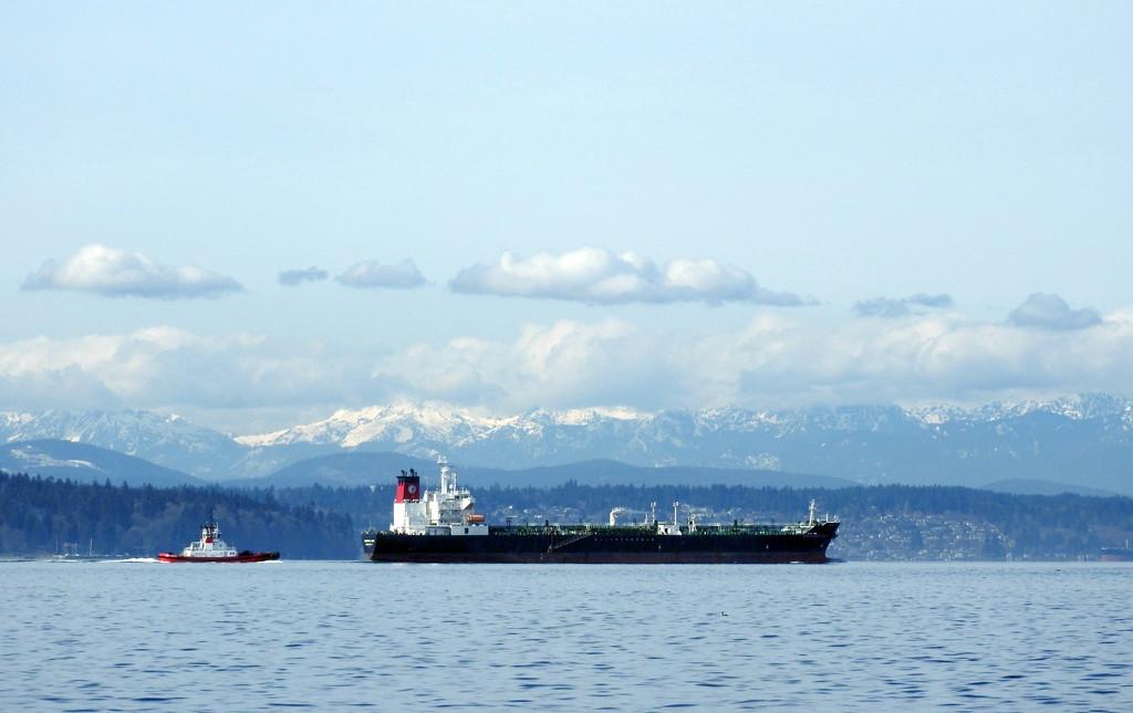 Heading North On Puget Sound by seattlite