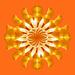Circular orange