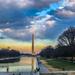 Washington Monument & Capital at Dusk