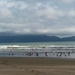 Kapiti Island NZ in cloud