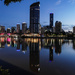 Brisbane skyline at dawn