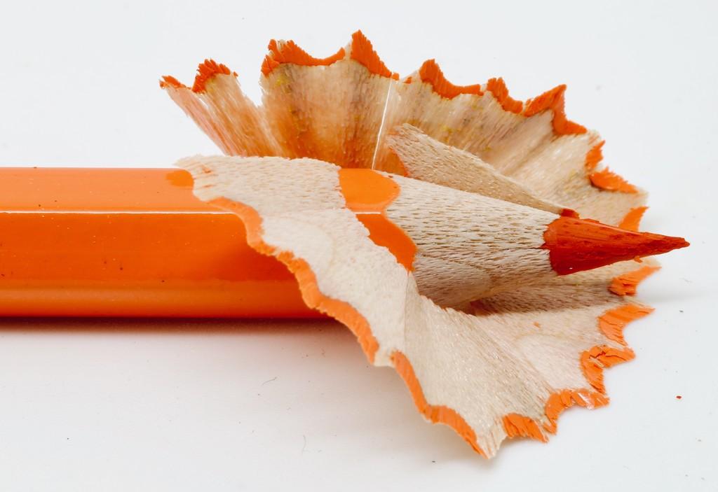 Orange Shavings by phil_sandford