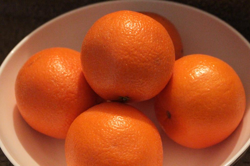 Orange oranges by mittens