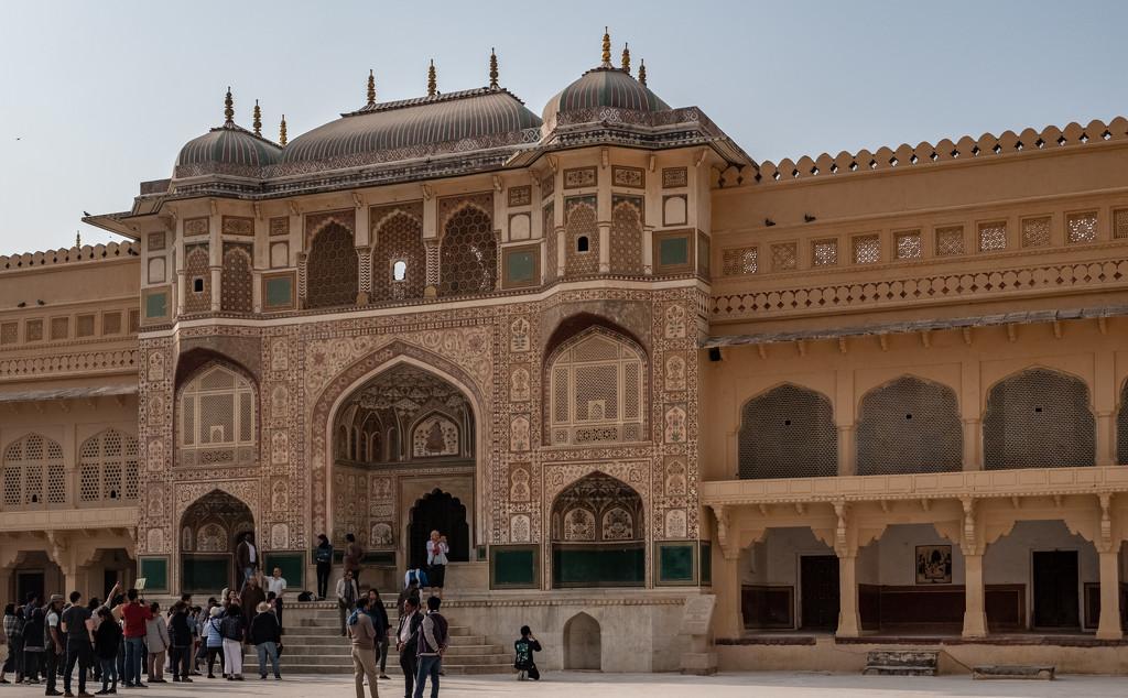 Jaipur: Amber Fort: architecture by golftragic