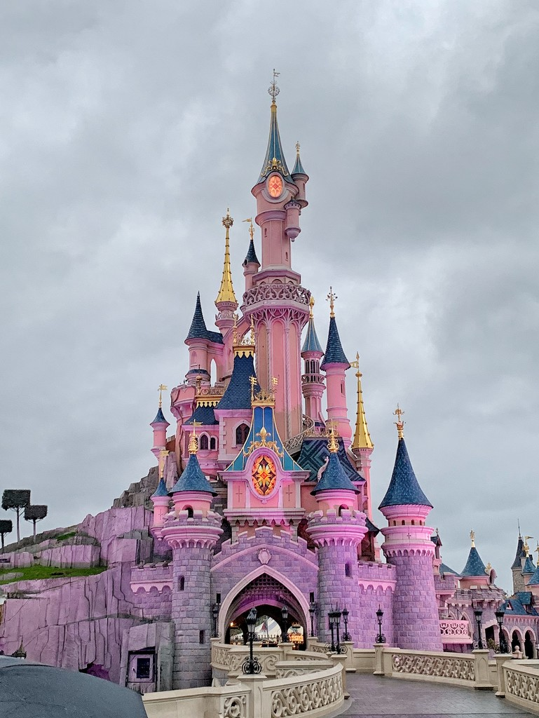 Pink castle.  by cocobella