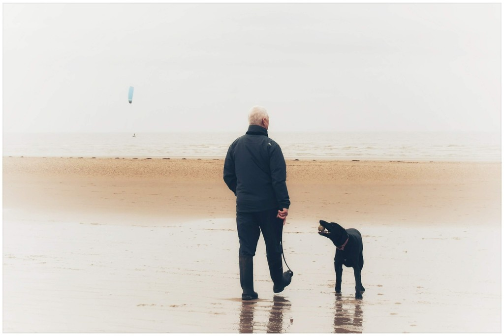 One man and his dog! by lyndamcg