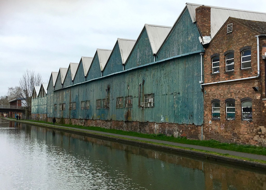 Industrial canalside by rosie00