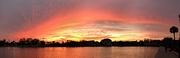 22nd Mar 2019 - Sunset at Colonial Lake