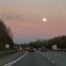 Motorway moon