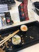22nd Mar 2019 - Dreadful photo of some sushi!