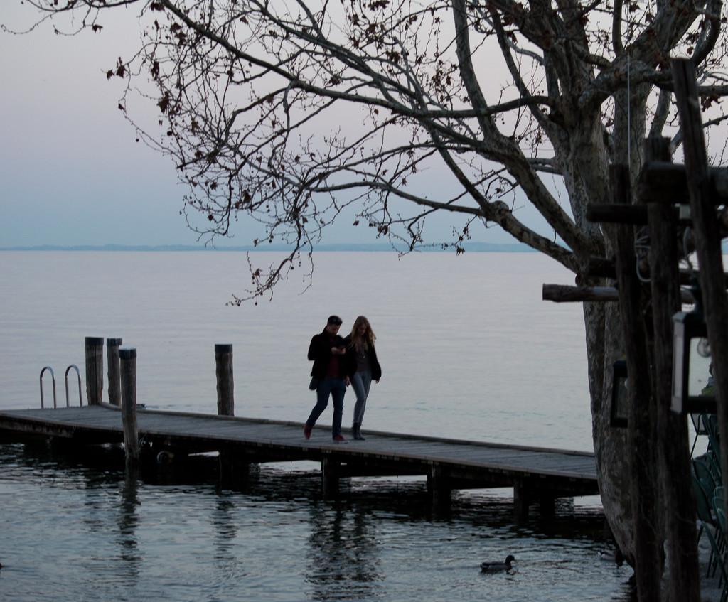 Romantic walk by caterina