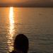 Junko photographing sunset