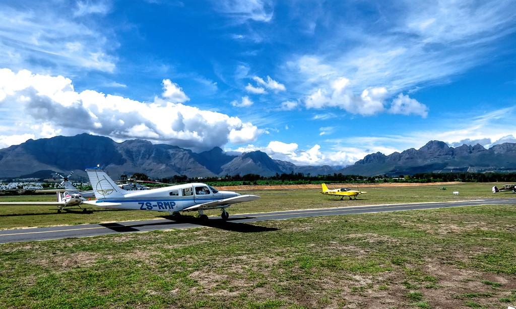 Stellenbosch Flying Cub by ludwigsdiana