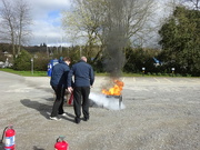 26th Mar 2019 - fire extinguisher training