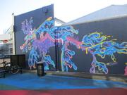 28th Feb 2019 - Wall ART   Napier   New Zealand