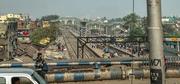 27th Mar 2019 - Kolkata: from a rail bridge