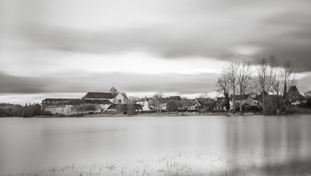 Paimpont Abbey - Becalmed... by vignouse