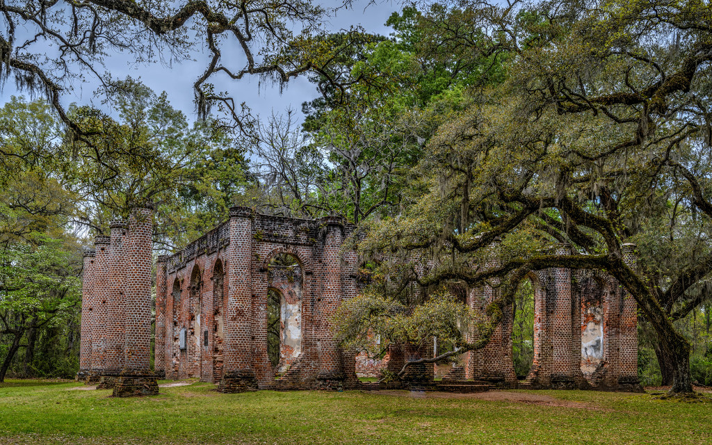 War Ruins in the Low Country by taffy