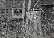 28th Mar 2019 - The Old Schoonover Barn in Black and White