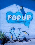 29th Mar 2019 - Rainbow Month - Blue Pop Up