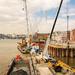 London Thames Crossrail works