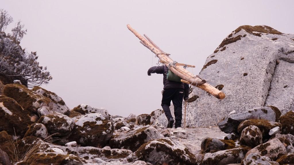 Himalaya trekking 1 by roulin
