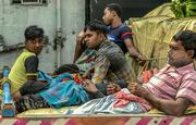30th Mar 2019 - Kolkata: riding in the back
