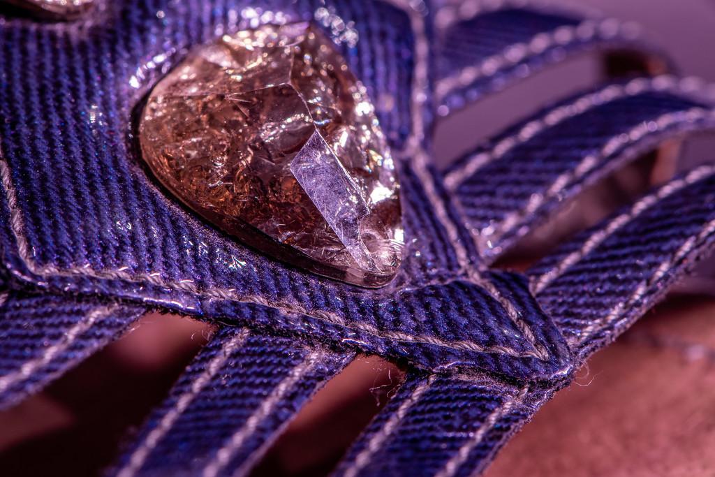 Purple sandals by yorkshirekiwi