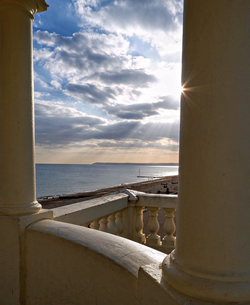 View from the gazebo by 4rky