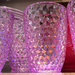 Purple plasticware