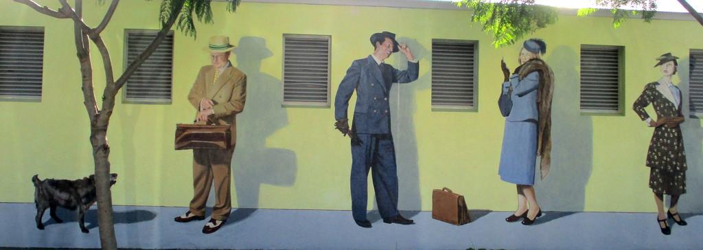 Art Deco Wall Art  Napier  New Zealand by 777margo