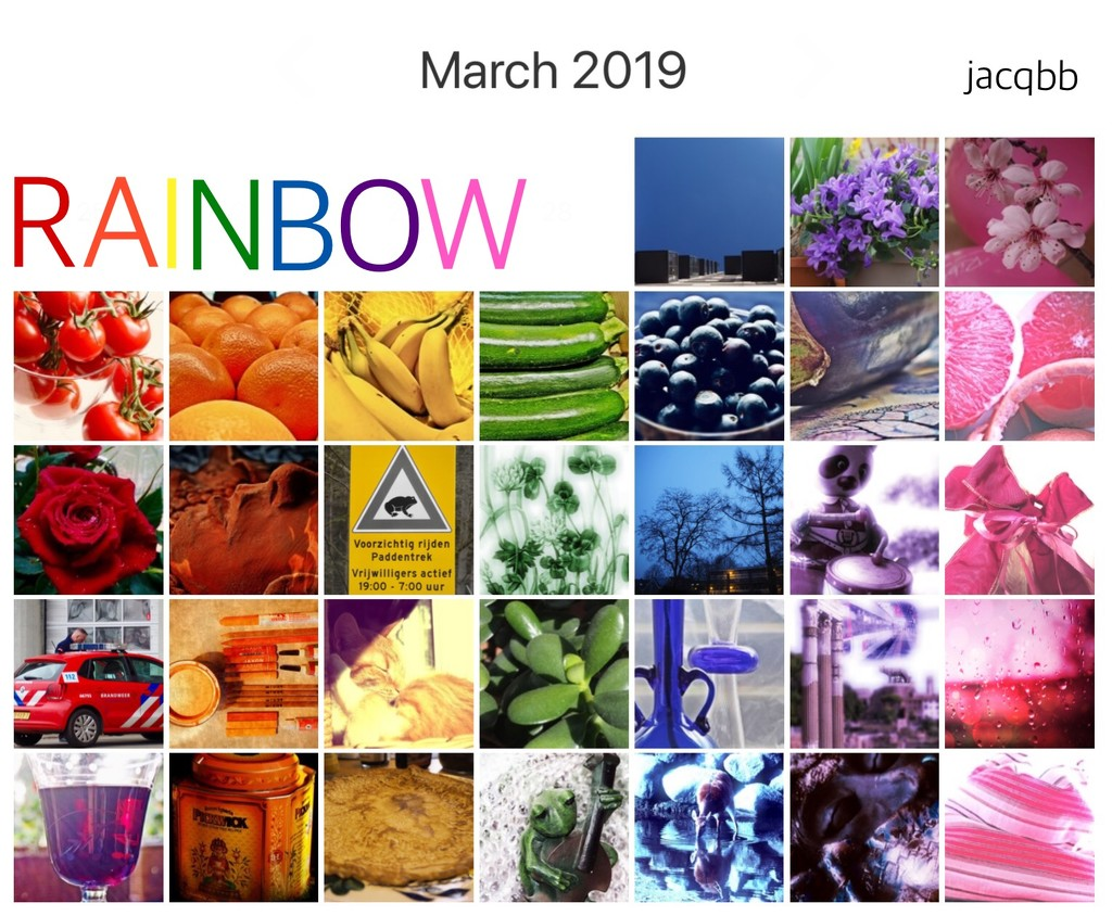 Rainbow March 2019 by jacqbb