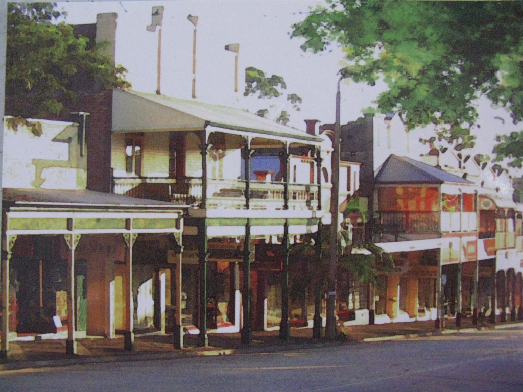 Bangalow - a heritage village in the hinterland behind Byron Bay NSW by loey5150