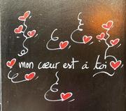 1st Apr 2019 - Mon cœur est à toi ❤️.