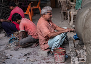 3rd Apr 2019 - Kolkata- Potters at work