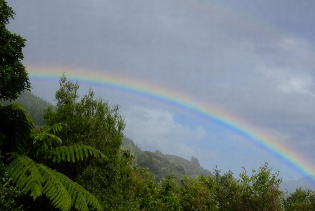A sky of two halves by kiwinanna