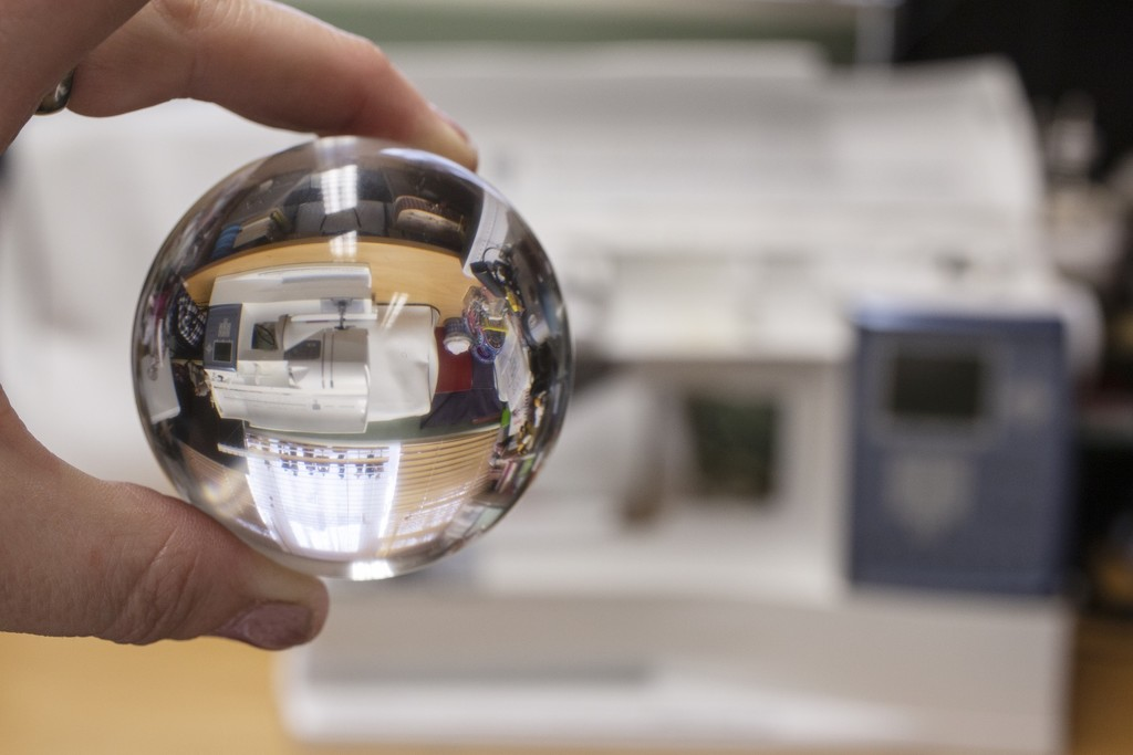 Lensball for 30 days - A peek into my day! by bizziebeeme
