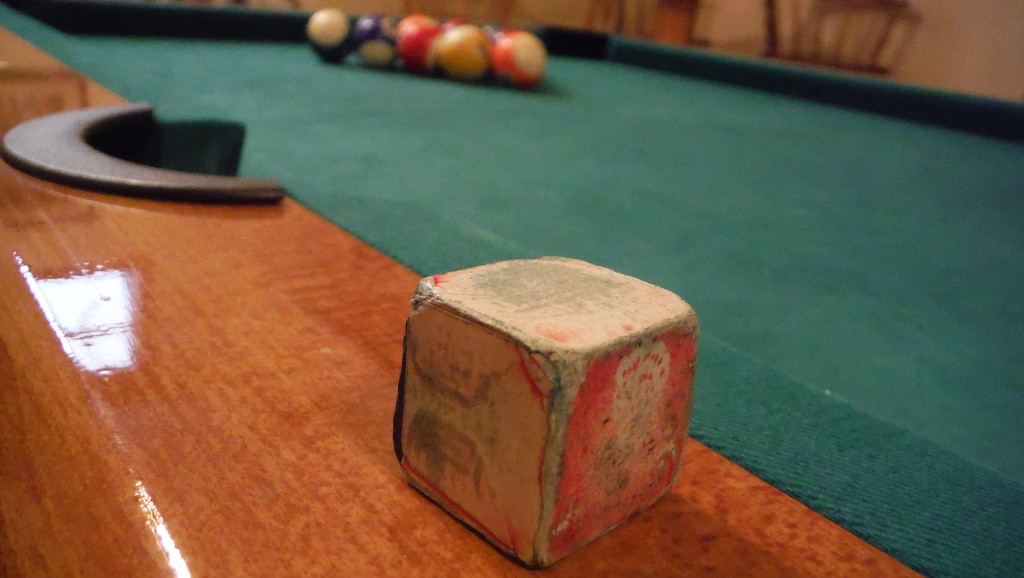 Chalk for Your Pool Cue by spanishliz