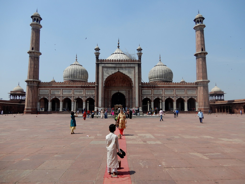 India's largest mosque by busylady