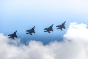 4th Apr 2019 -  Four ship F-15 fly by