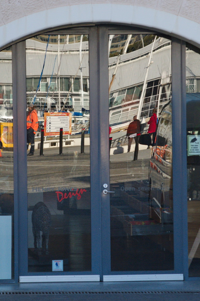 Reflections of a Town #4 - Hobart Wharf by kgolab