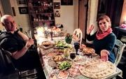 22nd Mar 2019 - Dinner table