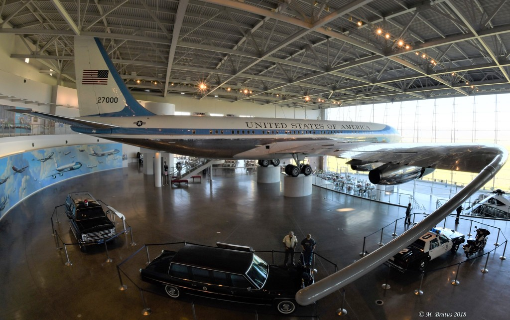 Air Force One at Reagan LIbrary by mbrutus
