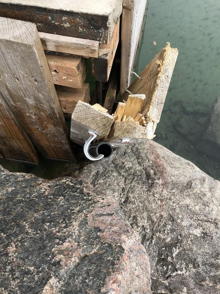 Dock Damage by frantackaberry