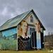 American Gothic Barn in Iowa by lynnz