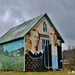 American Gothic Barn in Iowa