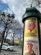 10th Apr 2019 - Heart on a Colonne Morris.