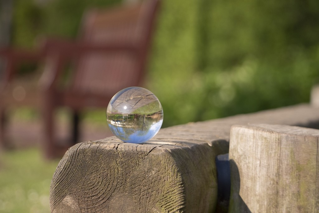 Lensball for 30 days _ Bluewater by bizziebeeme