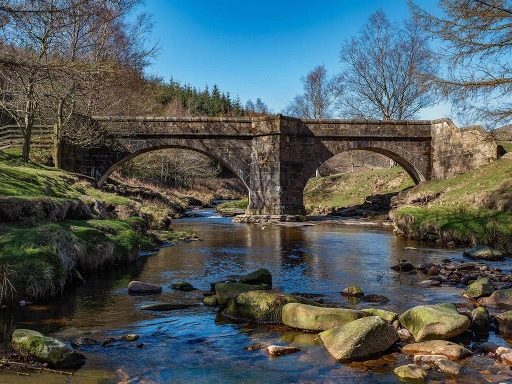 Pack horse bridge. by gamelee