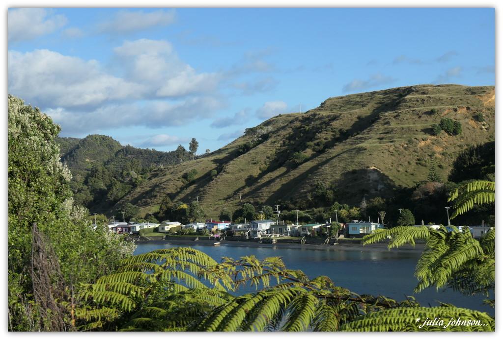 Tongaporutu ...River Baches.... by julzmaioro
